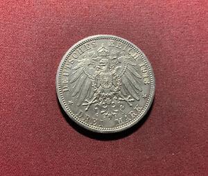 Preußen 3 Mark 1913 A Silber - Wilhelm II.