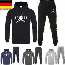 Männer Trainingsanzug Sport Herren Kapuzenpullover Pullover + Hose Jogginghose