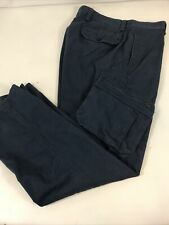 outdoor pant chaps m custom fit 36x30 cargo pant navy heavy duty work hunt hike