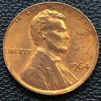 USA 1964 Lincoln - Kennedy Penny Lincoln Head Cent mit Kennedy Kopf #27092
