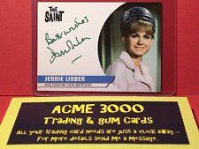 Unstoppable - THE SAINT - JENNIE LINDEN Autograph Card JL2 Diane Holbrook GREEN