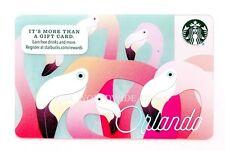 NEW Starbucks Orlando Flamingos 2016 Collectible Gift Card - No Cash Value