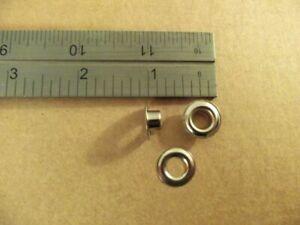 C.S. Osborne Stainless Steel Plain Rim Grommets Size #0 (Box Of 144)