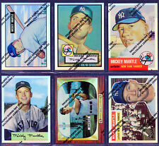 Mickey Mantle 1996 Topps Finest Refractor Set of 20 with film coating Yankees