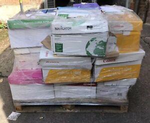 Pallet Of A3 (420mm x 297mm)  WHITE 80GSM PAPER INKJET LASER Job Lot (100 Reams)