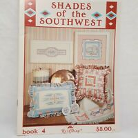 Shades of the Southwest Cross Stitch Pattern Leaflet 4 RainDrop Pottery Blanket