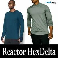 "MEN'S UNDER ARMOUR ""HEXDELTA"" UA COLDGEAR REACTOR RUNNING SHIRTS 1298834 1298251"