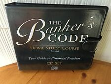 The Banker's Code Home Study Course By George Antone - 13 CD SET!   RARE ITEM!!