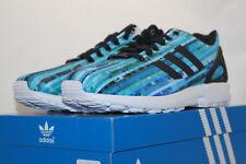 adidas ZX FLUX TORSION EU 42.6 UK 8.5 Running Shoes türkis s76505 Laufschuhe