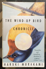 The Wind Up Bird Chronicle SIGNED by HARUKI MURAKAMI First Vintage Books Ed.1998