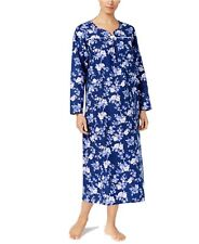 Charter Club Rose Garden Floral Flannel Nightgown Size Small NWT