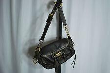 Roots Genuine Leather Dark Brown Handbag/Purse