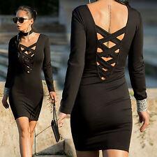 By Alina Kleid Minikleid Cocktailkleid Choker Dress Kropfband Pencilkleid XS-M