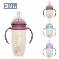 Baby Feeding Bottle Anti-Colic PPSU Bottles with Silicone Nipples Toddler Bottle
