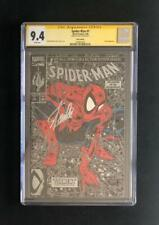 SPIDER-MAN #1 CGC 9.4 SS SIGNED STAN LEE SILVER EDITION MCFARLANE 300 AMAZING