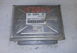 2002 Isuzu Trooper ecm ecu computer 8972895101