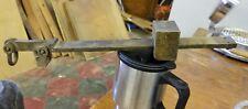 Fairbanks # 26 Brass Beam Bushel Grain Scale Brass Beam 4 pounds