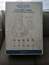 Graco Duet Oasis With Soothe Surround Baby Swing - Davis Collection - Brand New