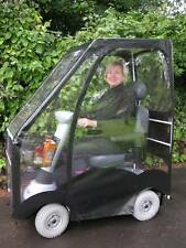 NEW DELUXE SHEERLINES MOBILITY SCOOTER CANOPY - STAY WARM THIS WINTER -WARRANTY