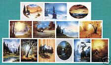 BOB ROSS, 3-disc DVD SET, Series 28 Teaches13 BEAUTIFUL Paintings, IN OIL
