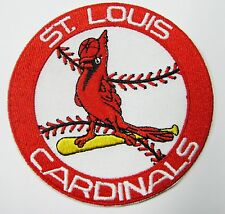 "(1) LOT OF MLB BASEBALL ST. LOUIS CARDINALS (3 1/2"" RD) PATCH PATCHES ITEM # 68"