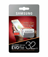 Memoria tarjeta Micro Sd 32 GB Evo clase 10 Samsung MB-MP32DU2/EU