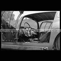 #pha.009409 Photo MASERATI 450 S COSTIN ZAGATO COUPE 1957 (INTERIOR) Car Auto