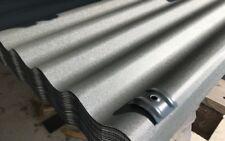 Sonderposten Stahl-Wellbleche RAL 7024 graphit Sinuswelle 76/18, 0,50 mm stark