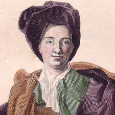 Bernard le Bouyer De Fontenelle Philosophe Scientifique Mathématicien Poète 1841