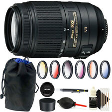Nikon AF-S DX NIKKOR 55-300mm f/4.5-5.6G ED VR Lens for D3300 D3400 D5500 D7000