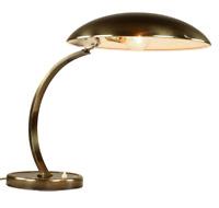 Kaiser Idell Modell 6751 Schreibtisch Leuchte Altmessing Arbeits Lampe Bauhaus