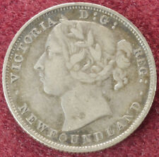 Canada Newfoundland 20 Cents 1899 (E2405)