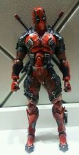 Authentic Square Enix PlayArts Kai  Marvel Deadpool Action Figure(no box)