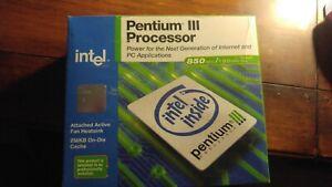 Brandnew SL47M Intel Pentium III 850MHz 100MHz FSB 256KB L2 Cache Socket SECC2