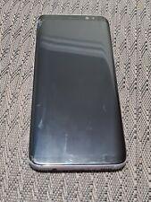Samsung Galaxy S8 - 64GB - Midnight Black Smartphone CRACKED - KOREAN MODEL - KT