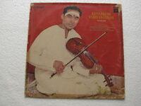 Kunnakudi Vaidyanathan Tamil  LP Record Bollywood India-1297