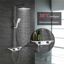 Duschsystem Thermostat Brausearmatur Regendusche Duschset Duschkopf Kopfbrause