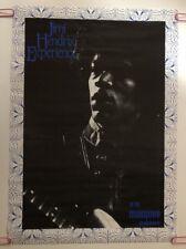 Jimi Hendrix Experience Poster Original Vintage Music Pin-up 1970's Headshop