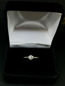 Tiffany & Co Diamond Round Brilliant Solitaire Platinum Ring w/Tiff Diamond Cert