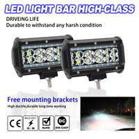 2 X 688W Projecteur Phare de Travail LED 5 Inch Feux Antibrouillard 2PCS Nouveau