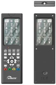 Skymaster Touch Screen 8 in 1 Universal-Fernbedienung schwarz