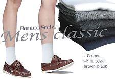 Unisex bamboo socks without toe stitchings ladies men's seam free ankle socks M
