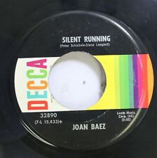 Rock 45 Joan Baez - Silent Running / Rejoice In The Sun On Mca Records