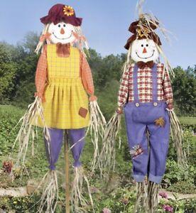 Garden Scarecrow Pest Repeller Control Deter Birds & Pigeons 6ft Decoy - 2 Pack