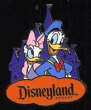 DLR 2016 Donald & Daisy Duck Disneyland Resort Castle Costco Travel Disney Pin