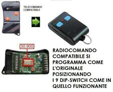 TELECOMANDO RADIOCOMANDO COMPATIBILE APRIMATIC TR 2GM 30,900 MHZ TASTO ARANCIO