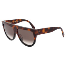 Celine Shadow Sunglasses Havana Black Frame Brown Gradient CL41026/S AEA Z3