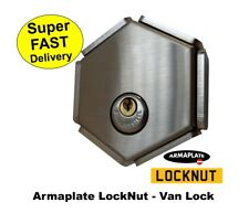 High Security Rear Van Door Lock Locknut Armaplate Custom