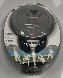Vintage Supersonic Portable CD Player & Headphones SC-2002 Brand New In Package