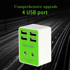Wall Charger 4 port USB 3.6A output. In different colors.